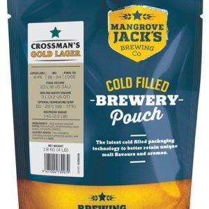 MJ Crossman's Gold Lager
