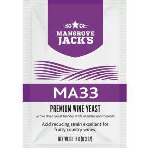 Mangrove Jack's MA33 wineyeast