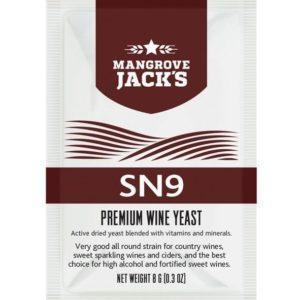 Mangrove Jack's Wine Yeast - SN9 8g