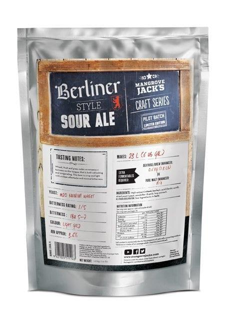 Mangrove Jack's Craft Series Berliner Style Sour Ale