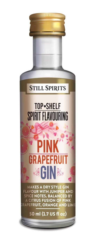 SS Top Shelf Pink Grapefruit Gin