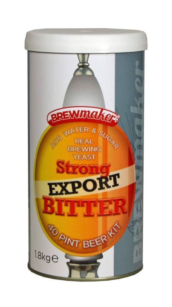 Brewmaker Strong Export Bitter 1.8 kg